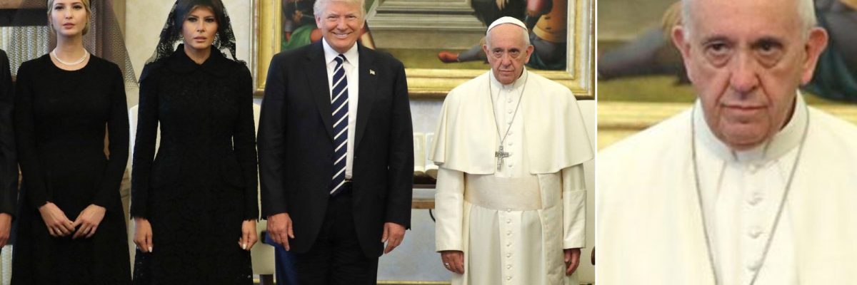 Donald Trump se reunió con el papa Francisco