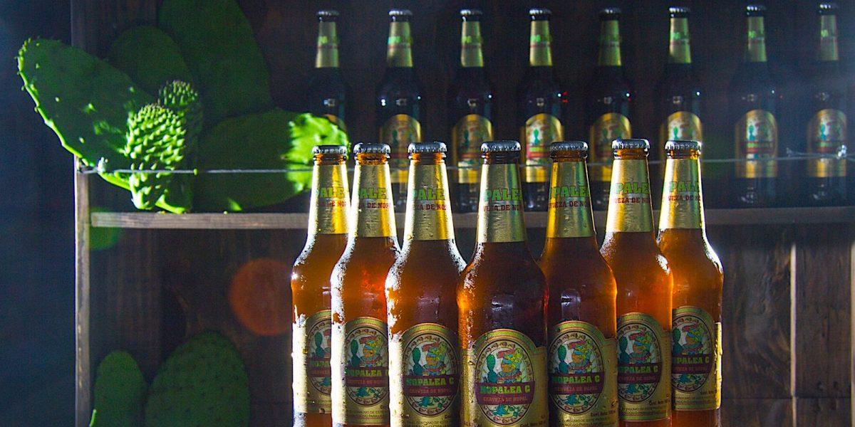 Cerveza de nopal.