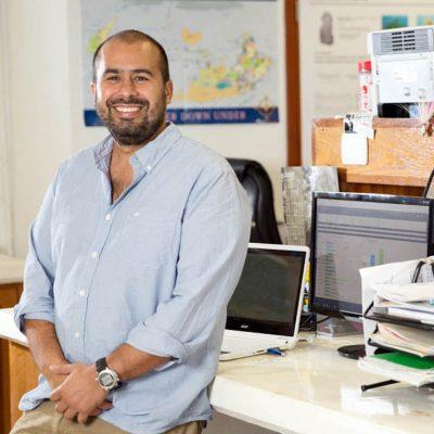 El investigador Lorenzo Álvarez.