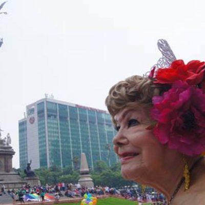 Una activista mexicana de 85 años.