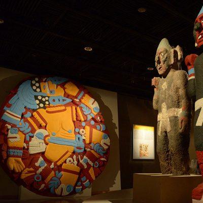 Azteca, colores