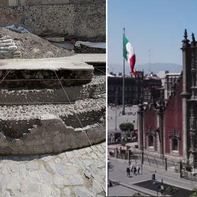 #Aztecas: Así es el templo del Dios del Viento que apareció en el centro de México