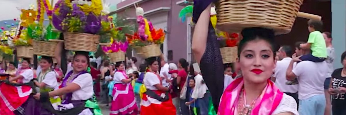 Una fiesta tradicional de Oaxaca.