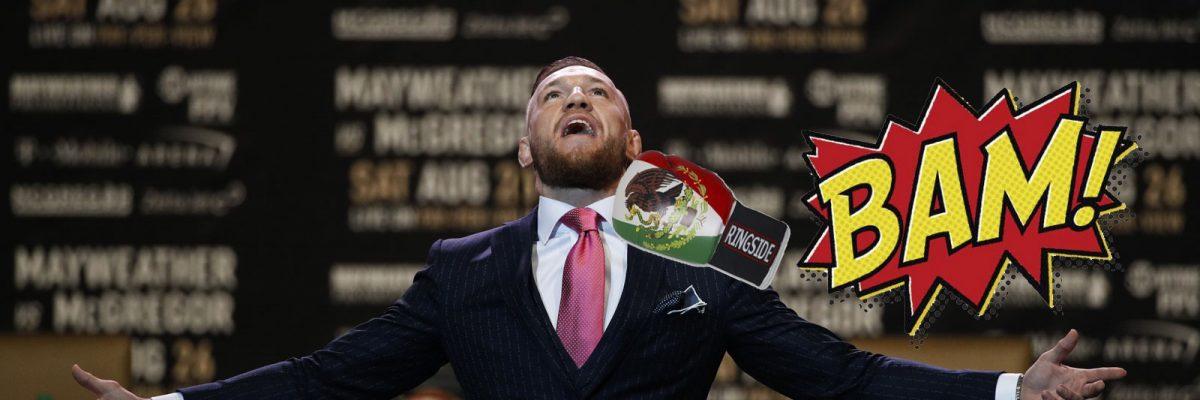 #PUM: ¿Noqueó un mexicano a Conor McGregor durante un entrenamiento?