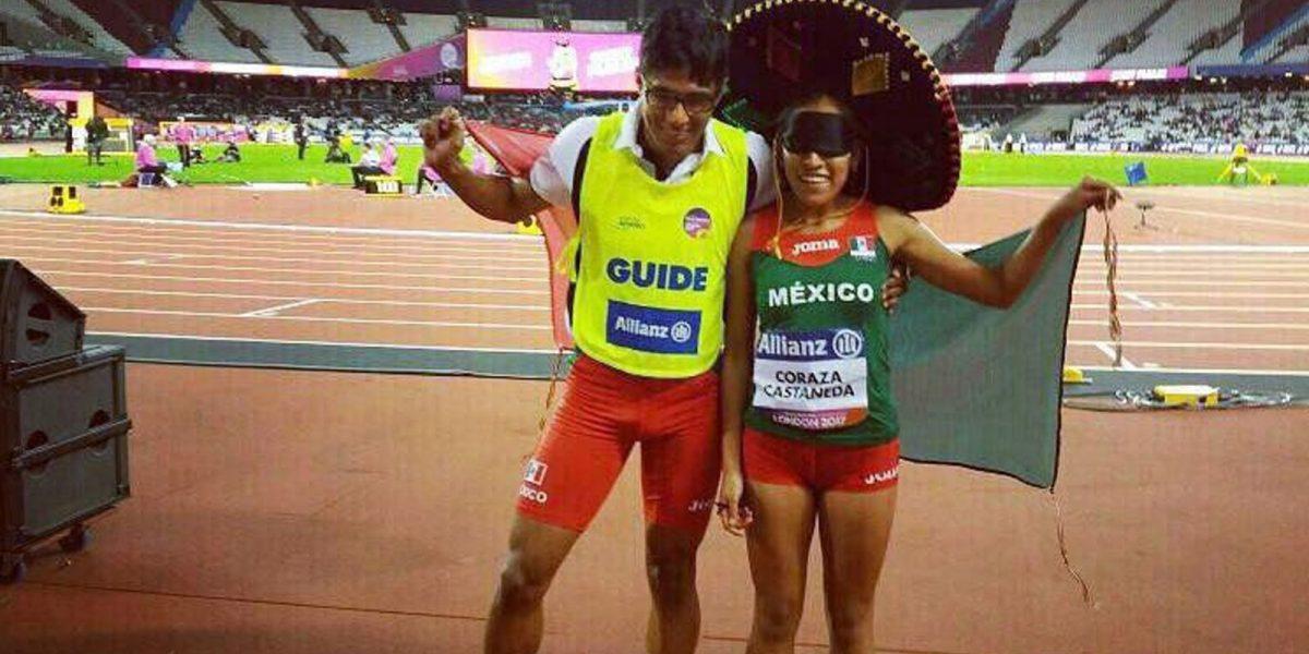 Diana Coraza redondea con oro una gran actuación mexicana en el Mundial de Para Atletismo