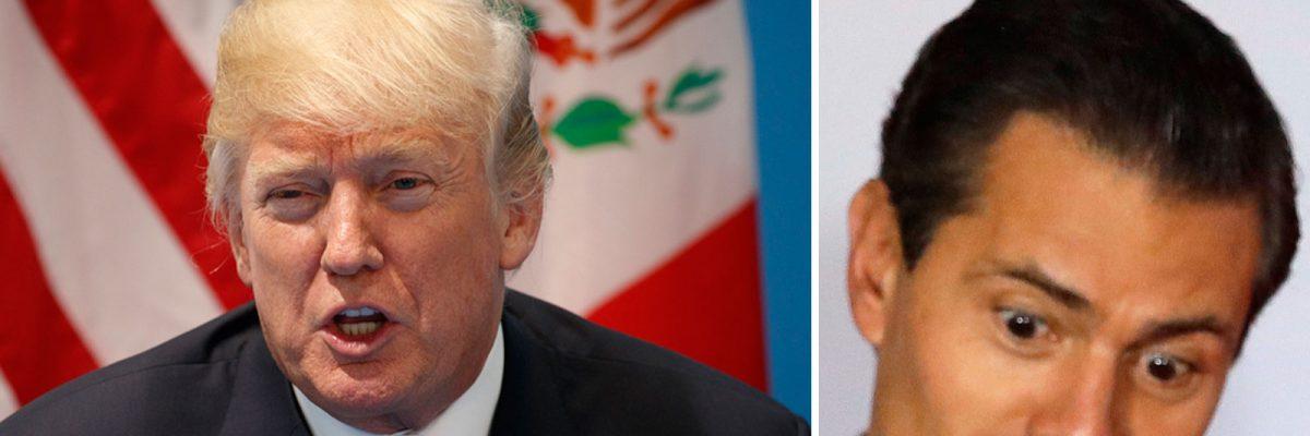 #Round2: Enfurecen mexicanos por el silencio de Peña Nieto frente a Trump
