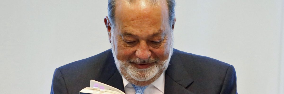 Carlos Slim - #Billetudos: Los 10 mexicanos más ricos que Donald Trump