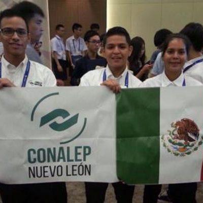 #IngenioMexicano: Triunfa app de estudiantes del Conalep en el e-ICON de Corea