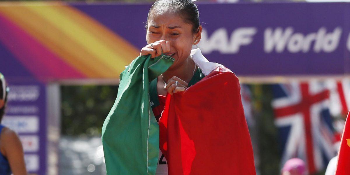 #VivaMéxicoCampeones: Lupita González obtiene la medalla de plata en Londres 2017