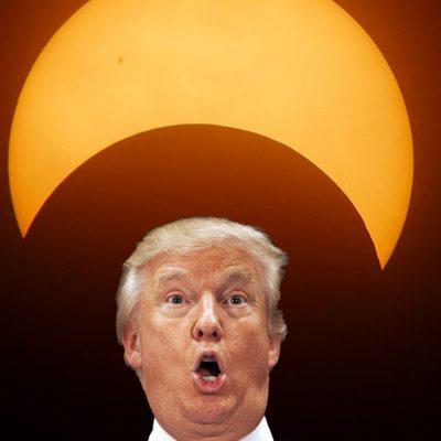 #ValióGorro: Astróloga asegura que el eclipse marcará el fin de Trump