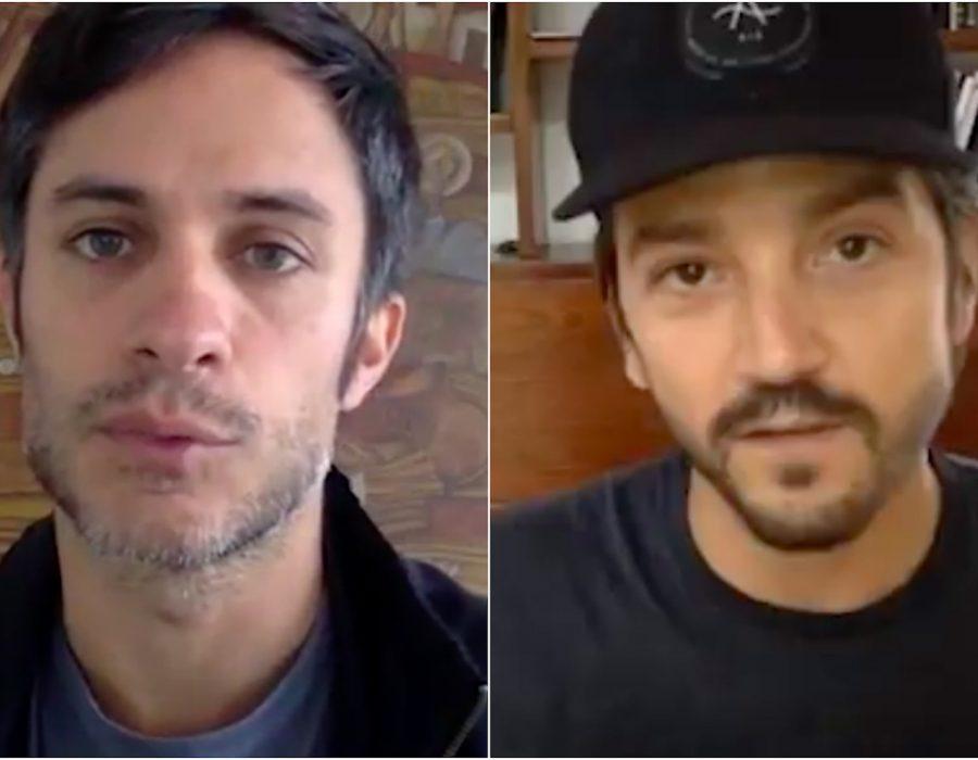Gael y Diego juntan ayuda para México.
