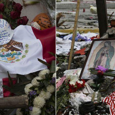 Altares tras el sismo de México