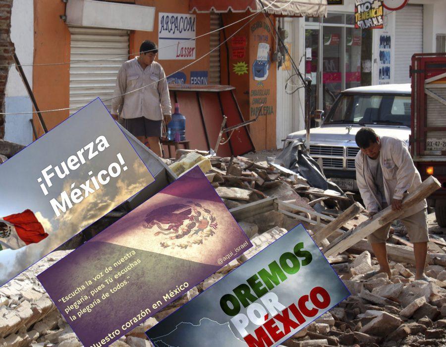 #NoEstánSolos: Solidaridad mundial con México tras el terrible terremoto