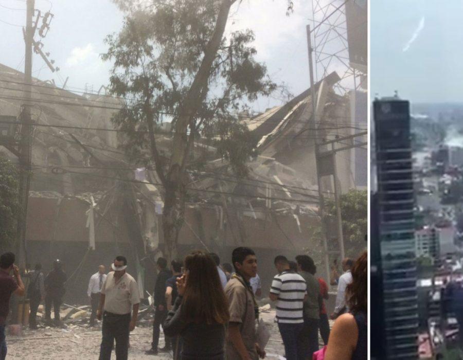 #ÚltimaHora: Sacude fuerte terremoto a la Ciudad de México