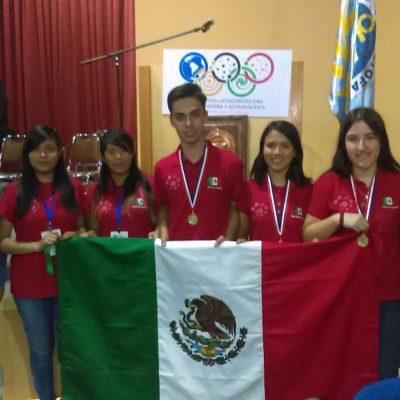 #AstroMex: México triunfa con medalla de oro en Olimpiada de Astronomía