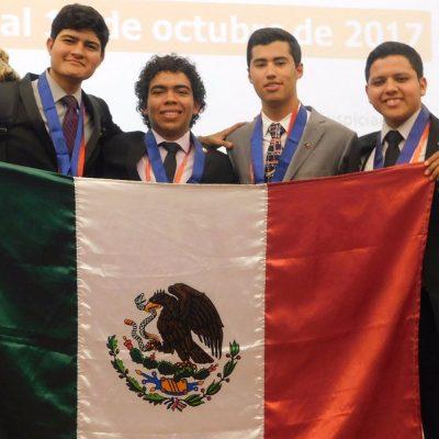 #Genios: Estudiantes mexicanos ganan cuatro medallas en la Olimpiada de Química