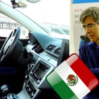 #AutoMan: Un mexicano sorprende al mundo con el mejor coche autónomo