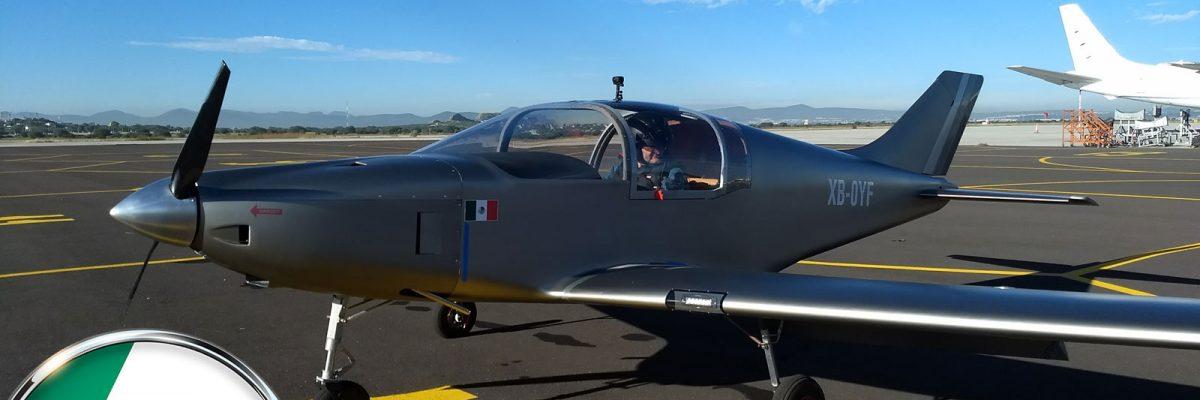 #FlyMéxicoFly: Vuela con éxito el Halcón H1, el avión 100 % mexicano