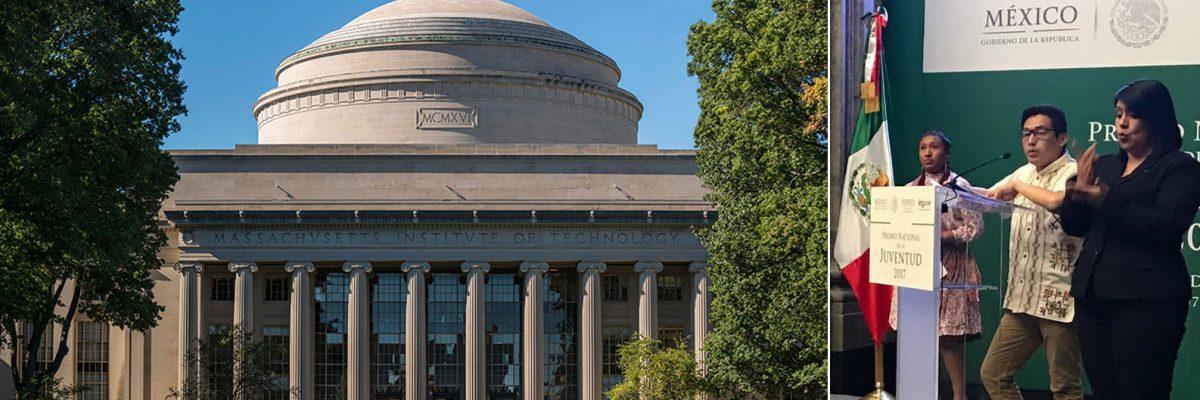 Reconocen al primer indígena mexicano aceptado en el MIT