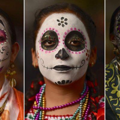 #Mágicas: Artista captura la belleza de las oaxaqueñas en el Día de Muertos