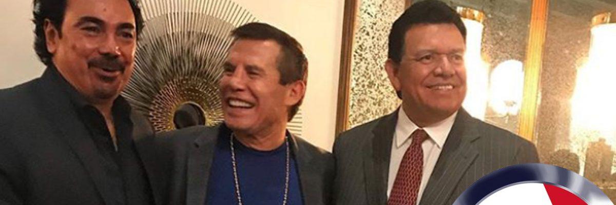 Hugo Sánchez, Julio César Chávez, Fernando Valenzuela