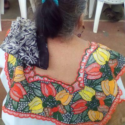 Huipil, prenda típica de los mayas