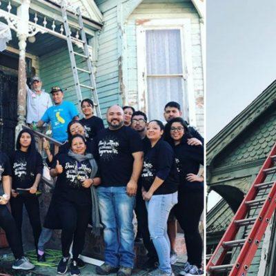 Ayudan a inmigrantes mexicanos a reparar su casa
