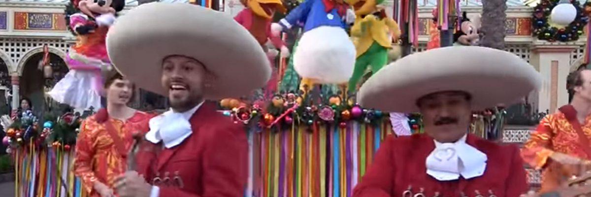 Mariachi y jarabe tapatío en Disney