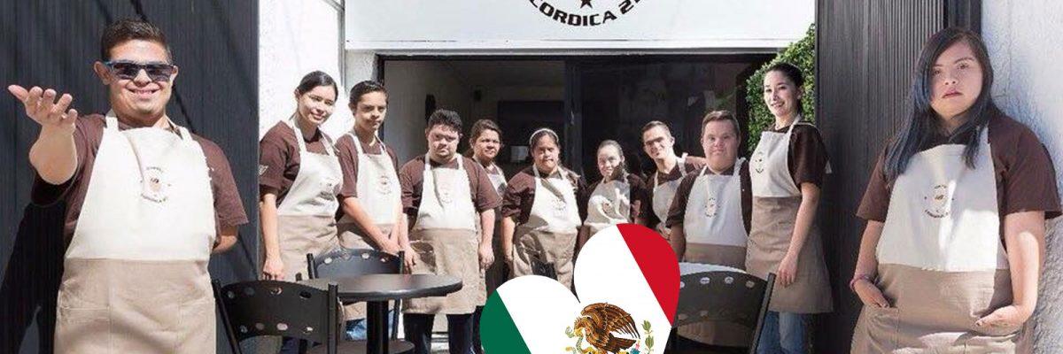 #Enormes: Abren cafetería en México atendida por chavos con síndrome de Down