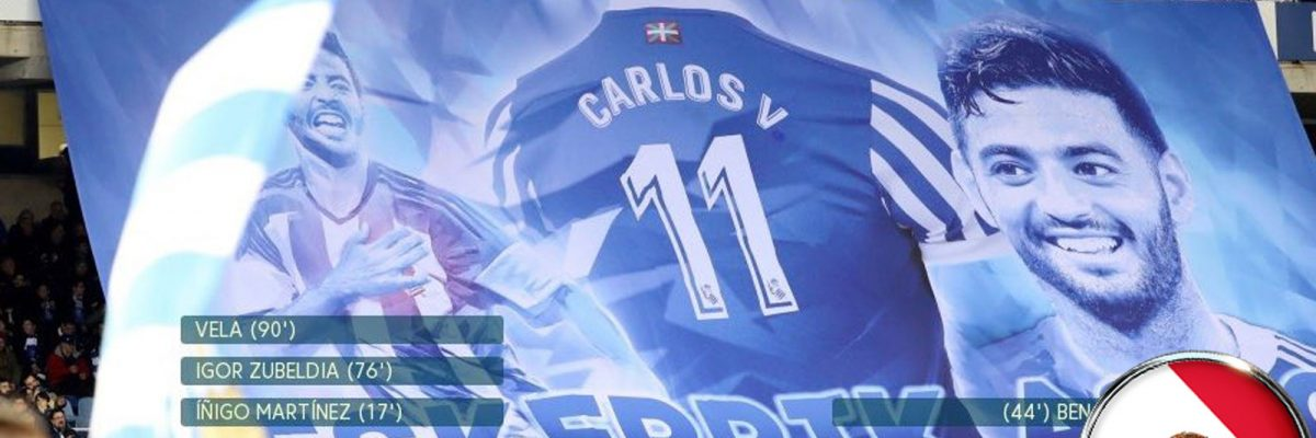 #Ídolo: Carlos Vela se despidió de la Real Sociedad como un verdadero crack