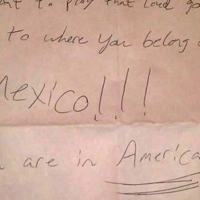 #PenaAjena: La carta de odio a una mexicana de parte de un racista amargado