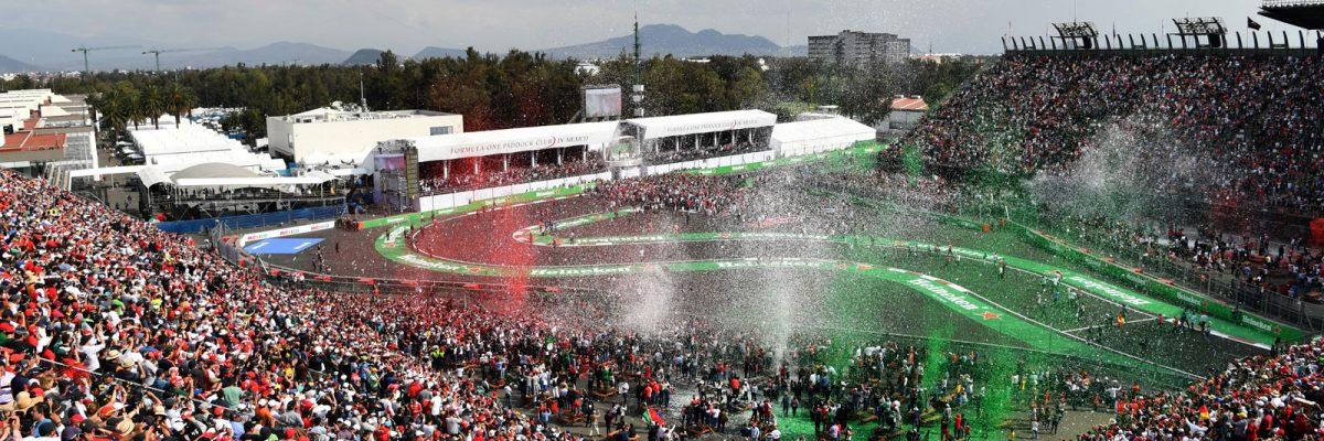#Histórico: Por tercer año consecutivo el GP de México gana como el Mejor Evento de la Fórmula 1