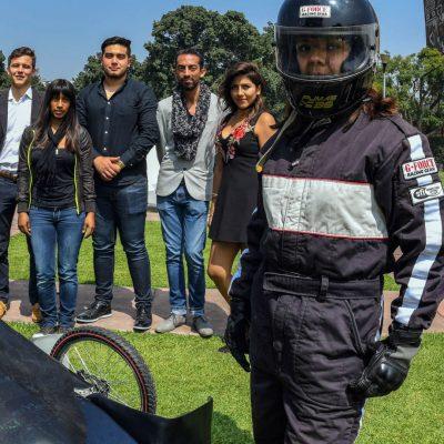 Estudiantes mexicanos crean auto eléctrico que compite en Brasil