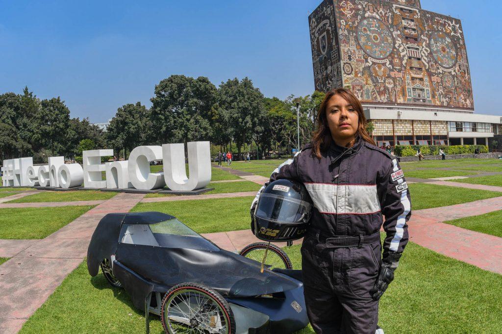 Auto eléctrico creado por estudiantes mexicanos