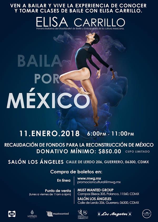 Baila por México - Elisa Carrillo