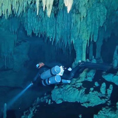 #Tesoro: Descubren en México la zona arqueológica sumergida más grande del planeta