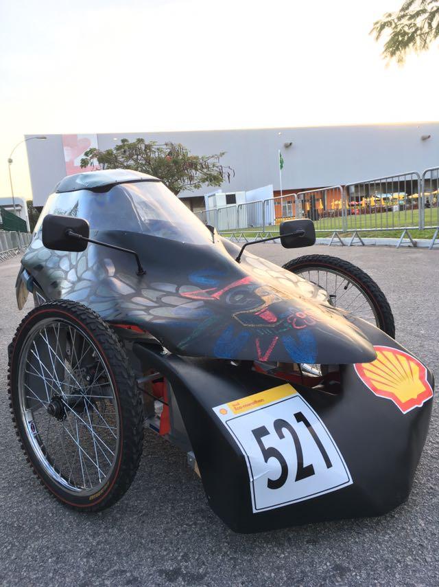 Auto eléctrico Kalani, creado por estudiantes mexicanos