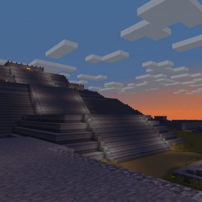 Teotihuacán en Minecraft