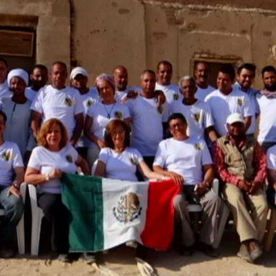 Arqueólogos mexicanos recuperan tumba egipcia