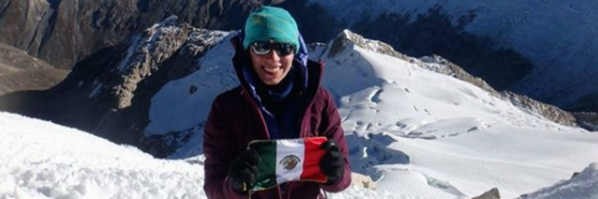 La alpinista mexicana se unió al Explorers Grand Slam,