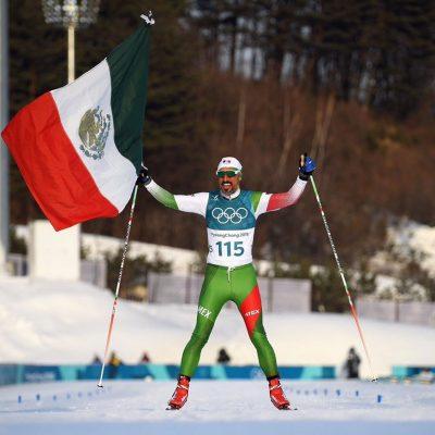 #GuerreroAzteca: El mexicano Germán Madrazo se ganó el corazón de los JJ. OO. de Invierno