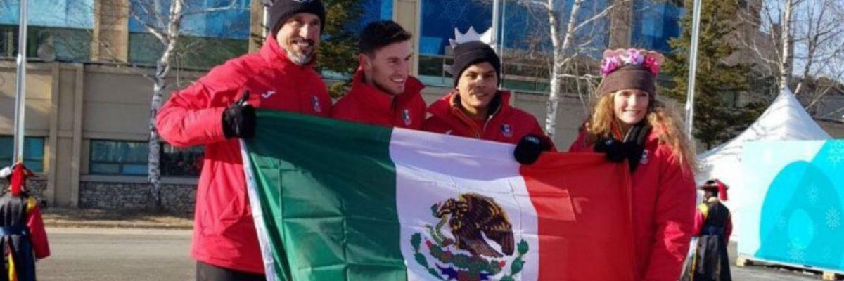Bandera mexicana - Juegos Olímpicos