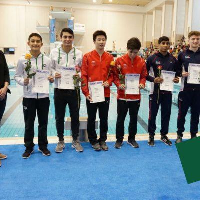 Clavadistas mexicanos obtienen seis medallas en Alemania