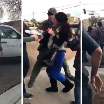 """#QuéPocaMadre: """"La Migra"""" arrebató a mamá de los brazos de sus hijas"""