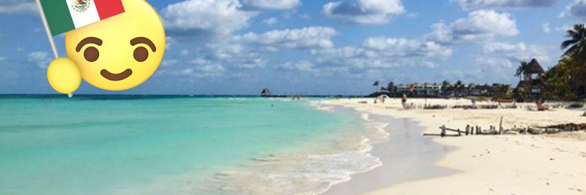 Playa mexicana - Isla Mujeres