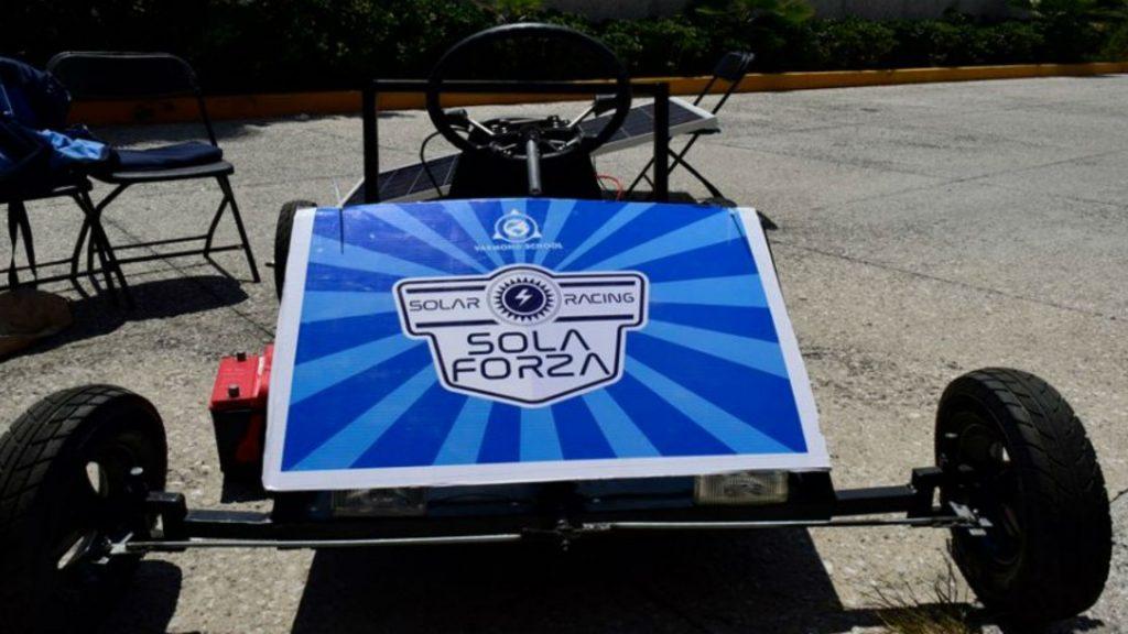 Auto solar creado por estudiantes mexicanos