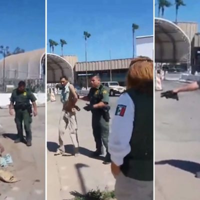 """#QuéPoca: Sorprenden a """"La Migra"""" botando a hombre herido por """"parecer mexicano"""""""
