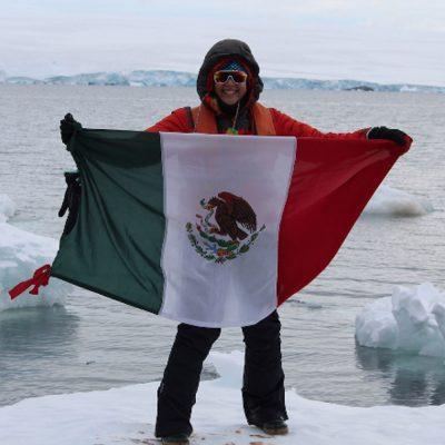 #Valiente: Científica mexicana va a la Antártida para luchar contra el cambio climático