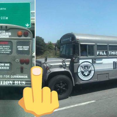 autobus de la deportacion