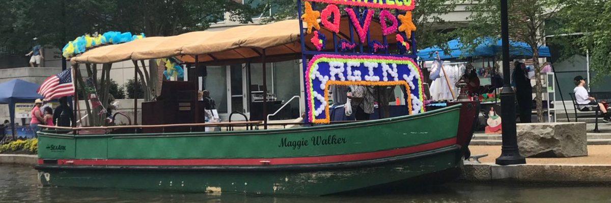 #Magia: Aparece una trajinera de Xochimilco en Richmond, Virginia